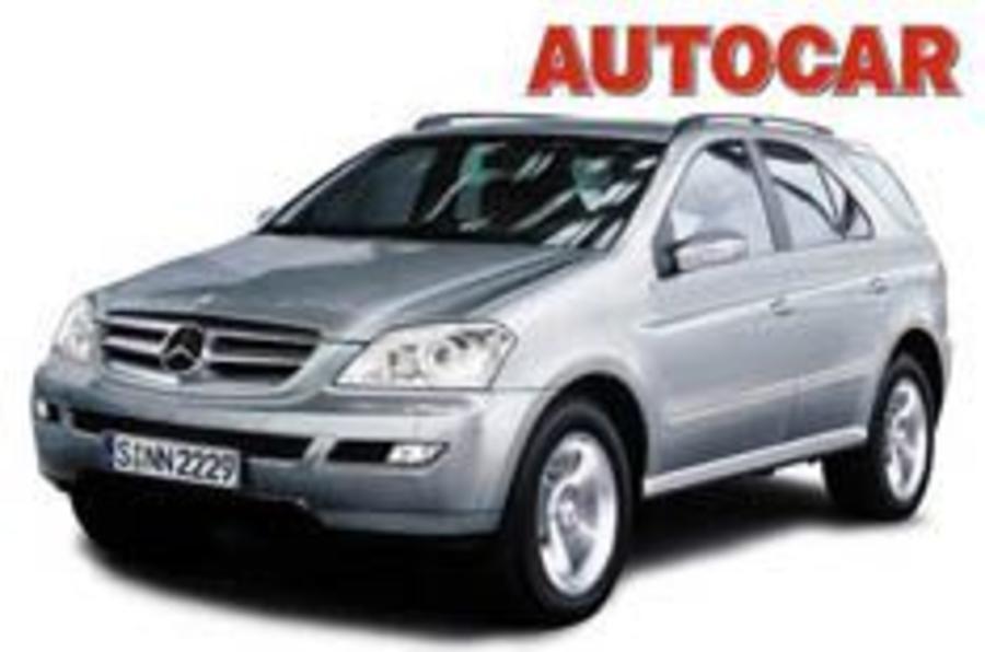 Mercedes' 2005 model assault