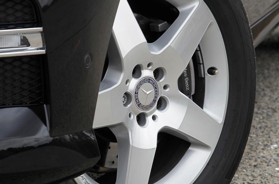 19in Mercedes-Benz M-Class alloys
