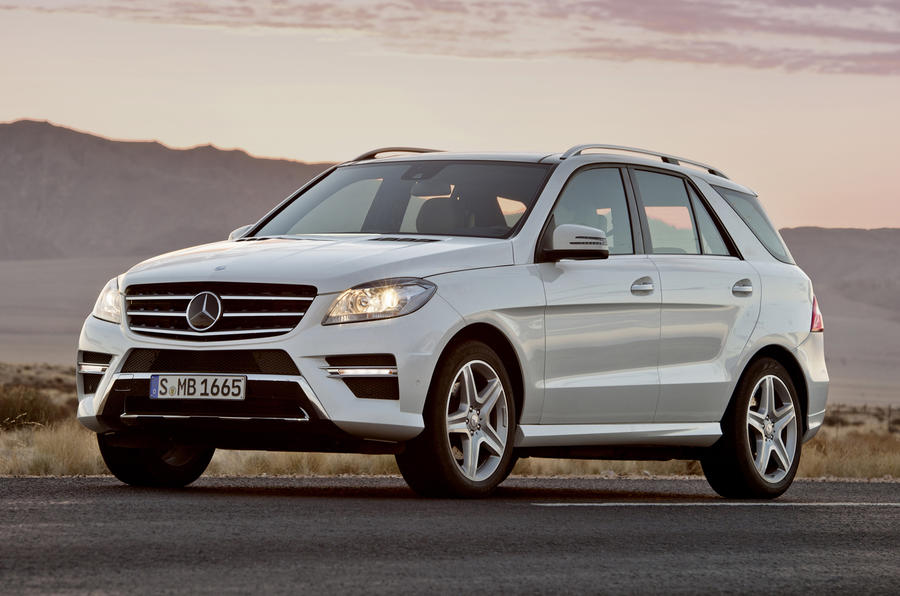 New Mercedes ML unveiled