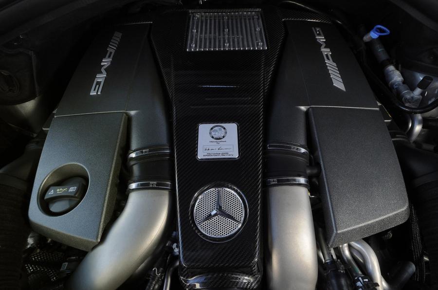 Mercedes-AMG ML 63 5.5-litre V8 engine
