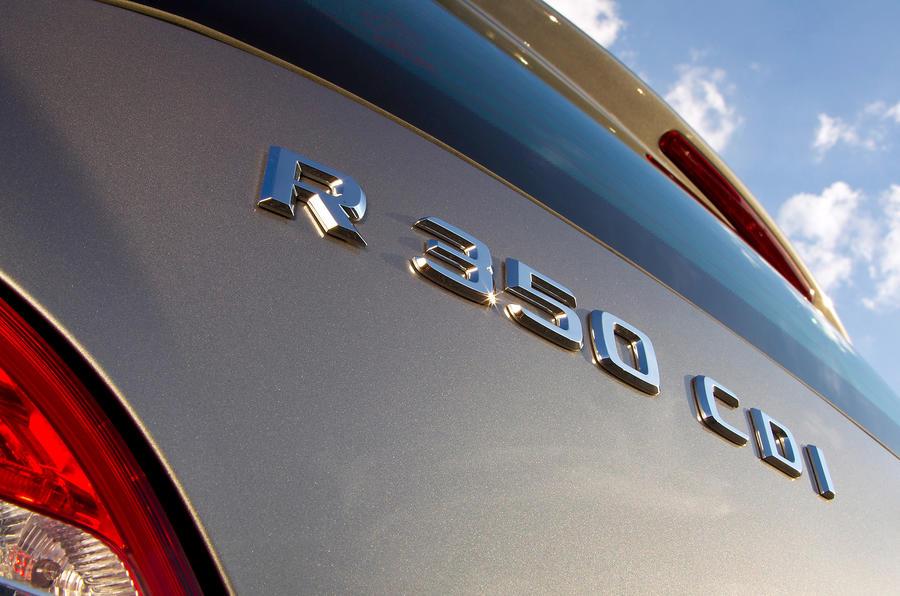 Mercedes-Benz R-Class badging