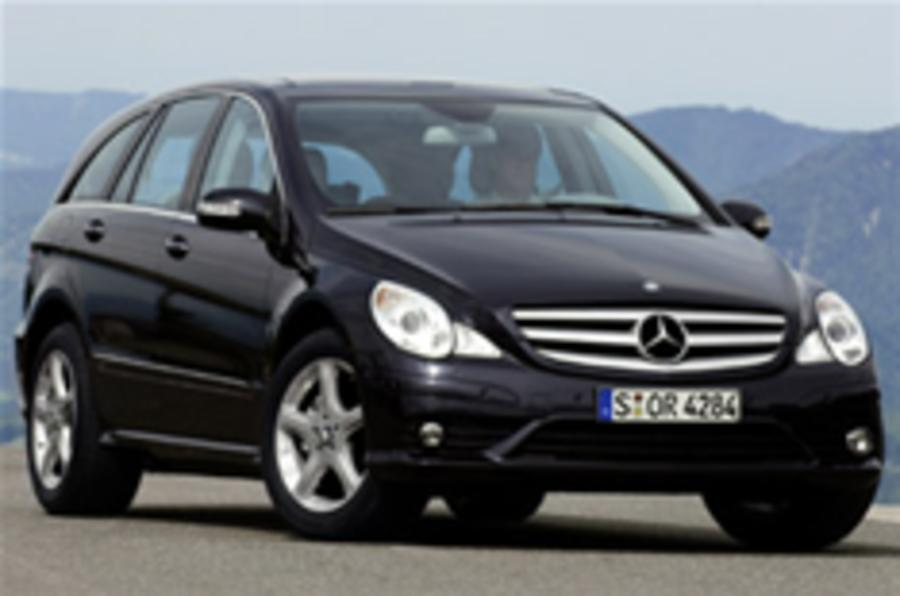 Mercedes makes seven-seat RWD R-class