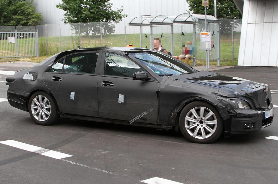 Next Mercedes S-class: new pics