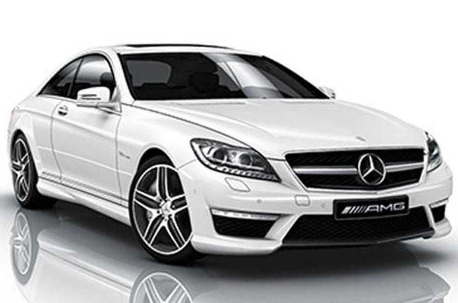 Mercedes S-class coupe pictured