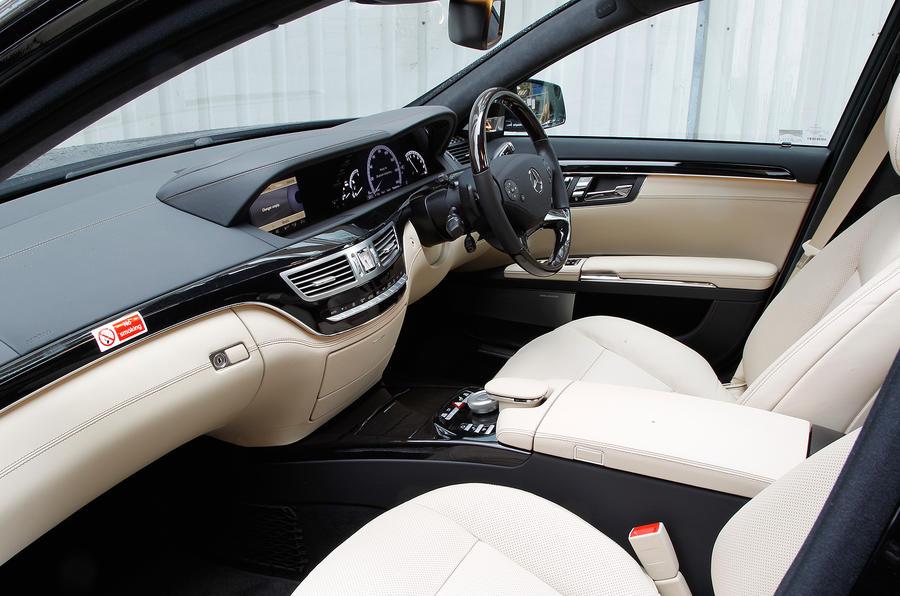 Mercedes Benz S Class 2006 2013 Interior Autocar