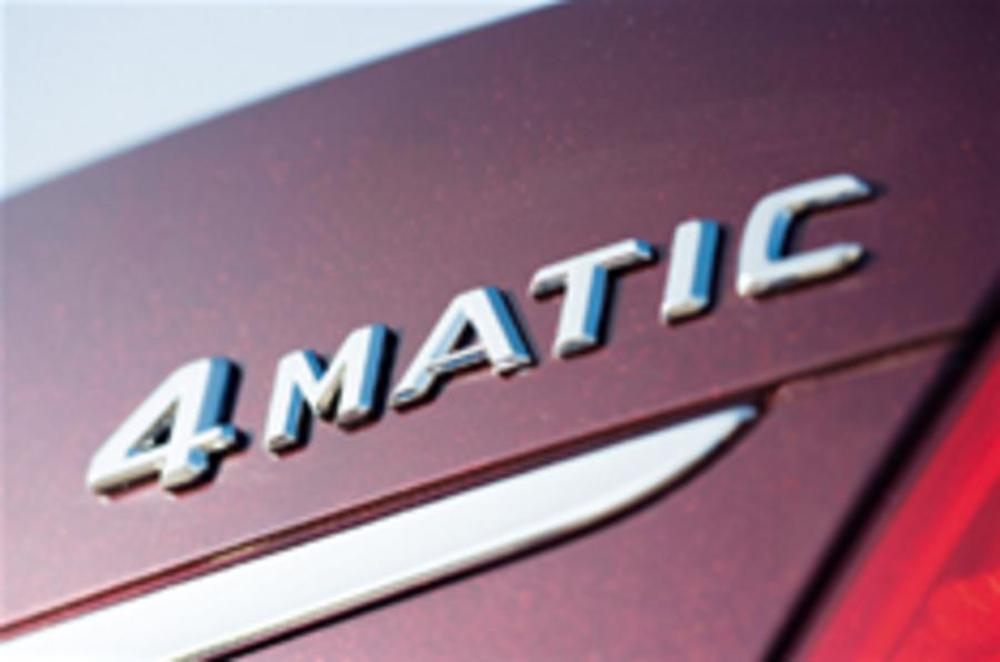 Mercedes' 4x4 future