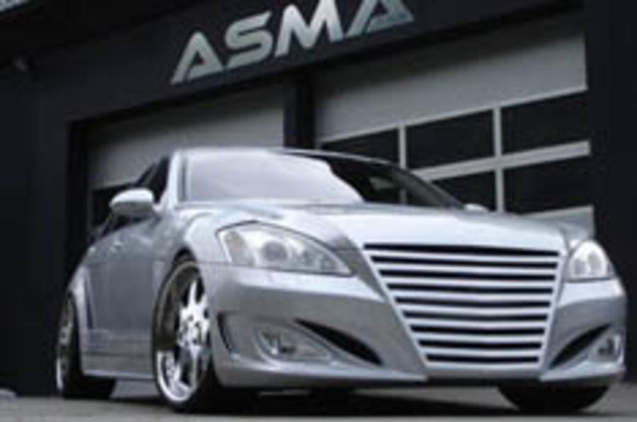 An S-class with 'attitude'