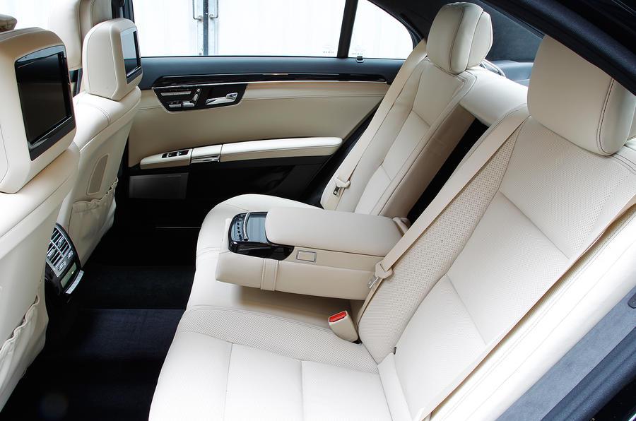 Mercedes-Benz S-Class rear seats