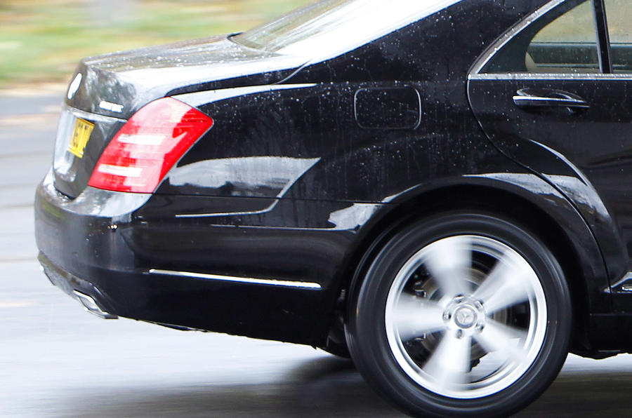 Mercedes-Benz S-Class rear end