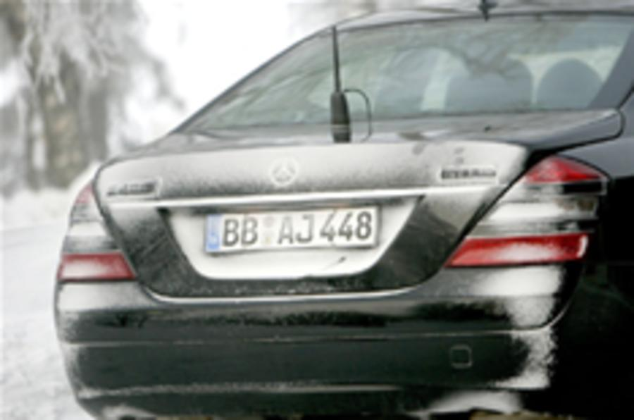 Spied: Hybrid Mercedes S-Class