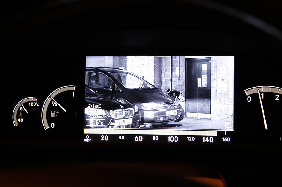 Mercedes-Benz S-Class night vision
