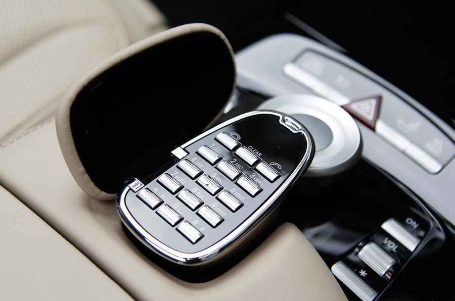 Mercedes-Benz S-Class onboard phone