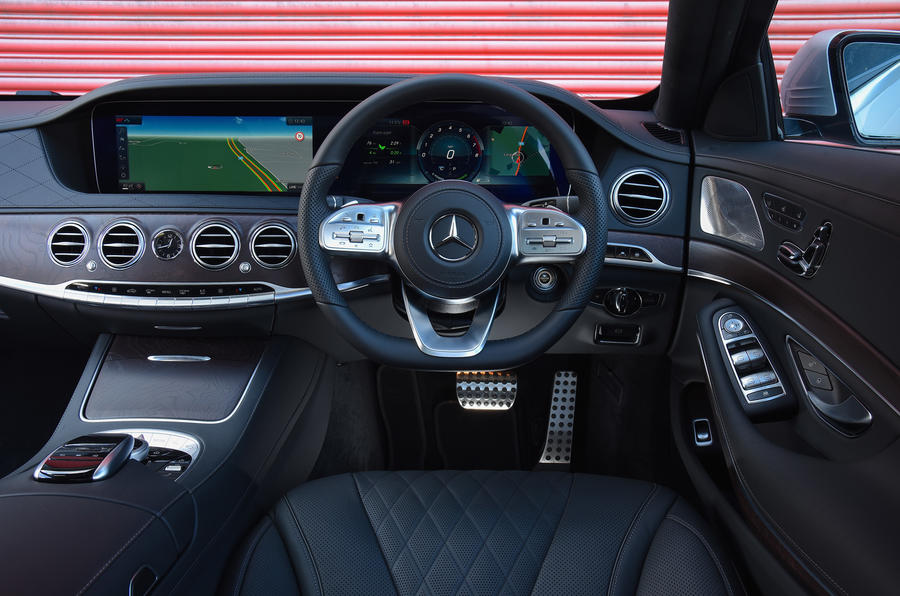 Captivating ... Mercedes Benz S Class Dashboard ...