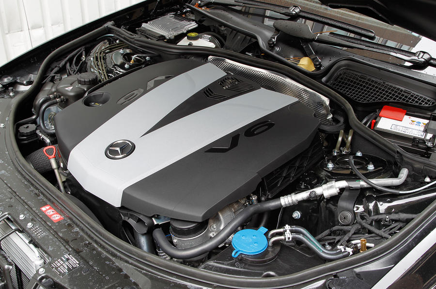 3.0-litre V6 Mercedes-Benz S-Class diesel engine