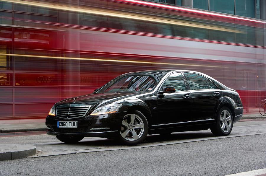 4 star Mercedes-Benz S-Class