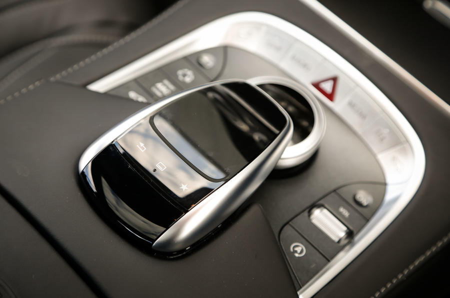 The infotainment controller in the Mercedes-AMG S 63 Coupé