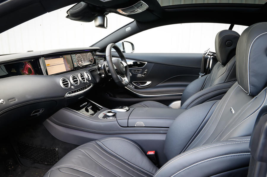 A look inside the Mercedes-AMG S 63 Coupé