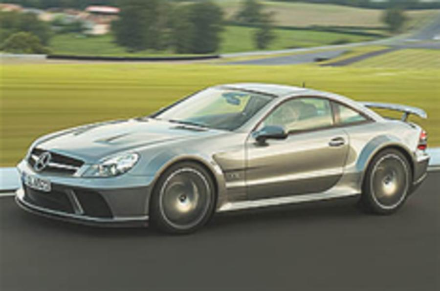 New Merc SL65 Black Series