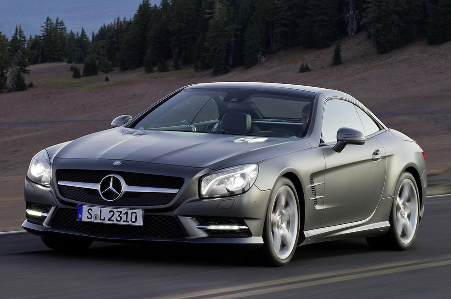 Detroit show: All-new Mercedes SL
