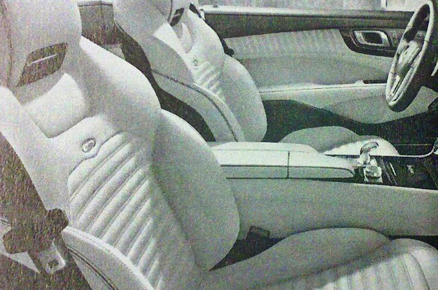 Mercedes SL pics leaked