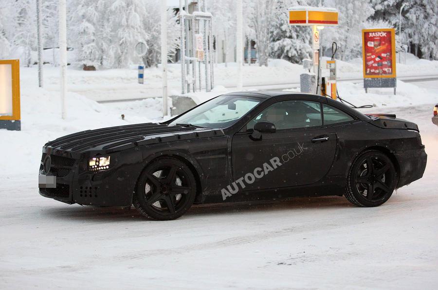 Next Merc SL AMG scooped