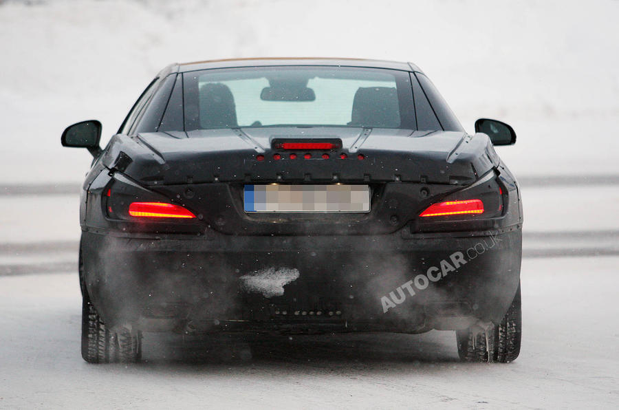 Next Merc SL AMG scooped