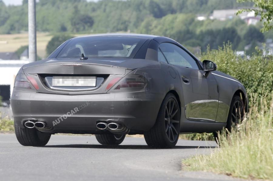 Mercedes SLK AMG: new pics