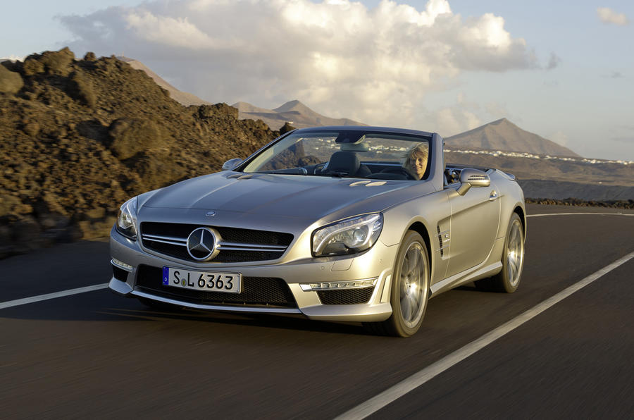 Geneva show 2012: Merc SL63 AMG