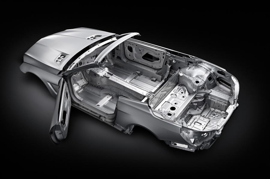 Merc SL gets aluminium tech