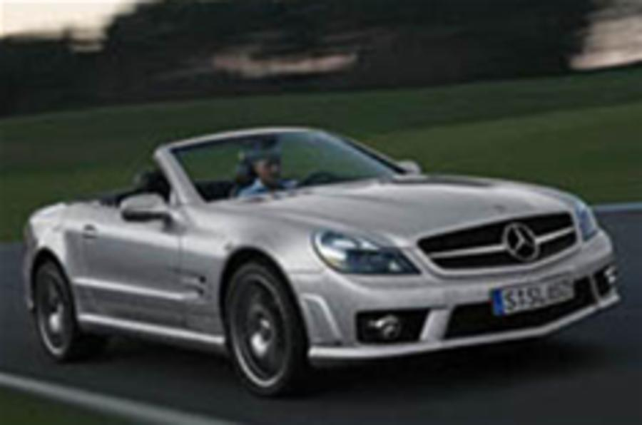 New Mercedes SL63 AMG: UPDATED