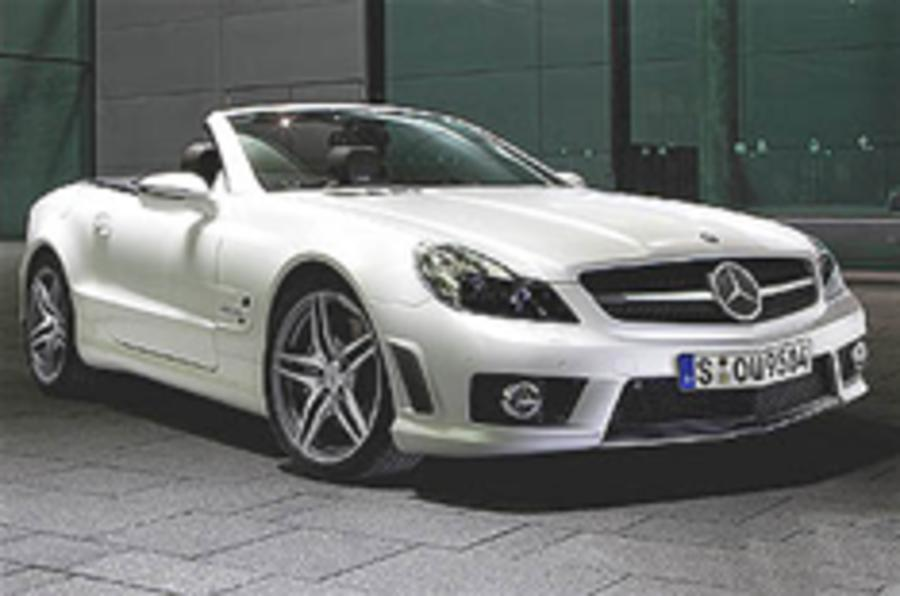 Mercedes SL63 gets IWC edition
