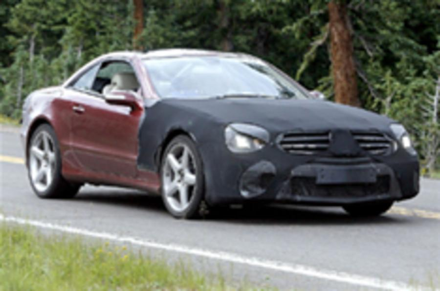 On video: next year's Mercedes SL