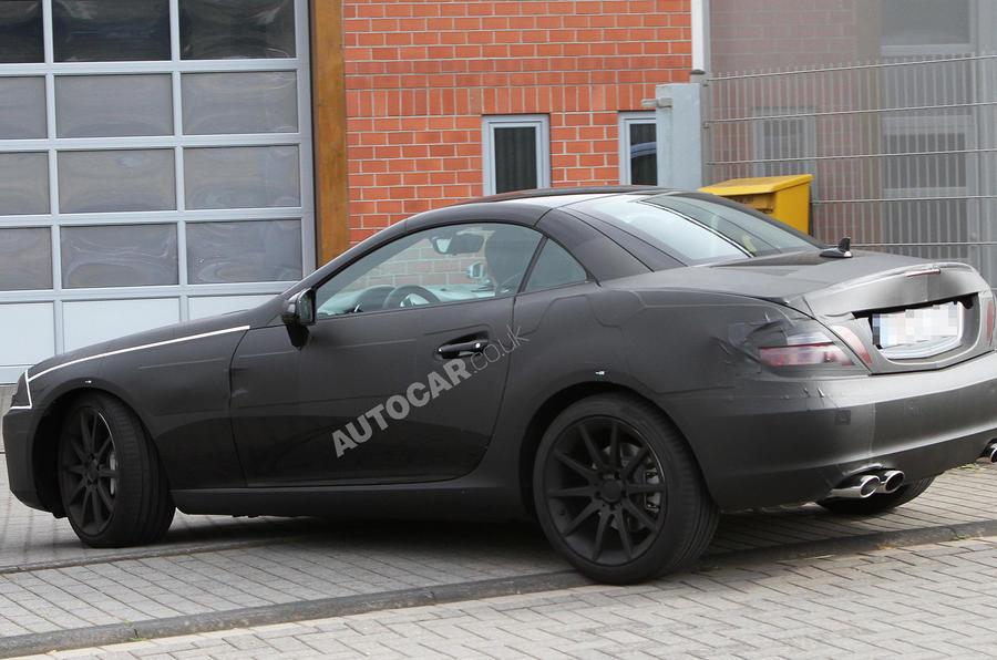 Mercedes SLK AMG: first pics