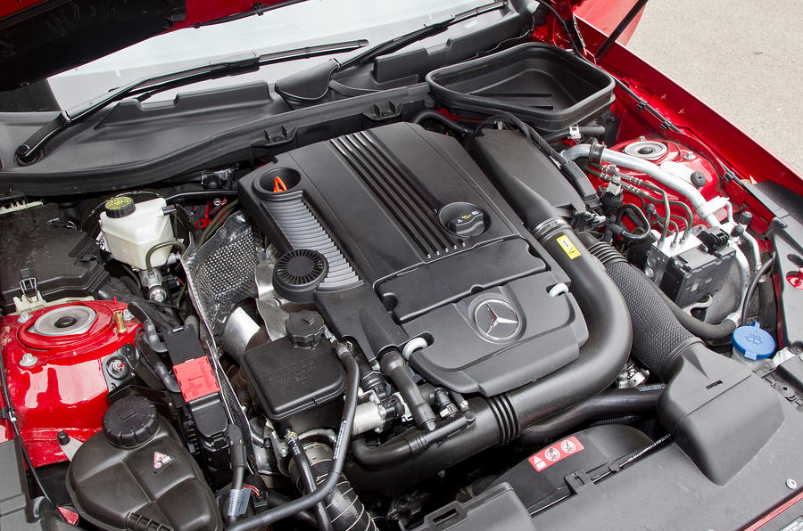 Mercedes-Benz SLK 1.8-litre petrol engine