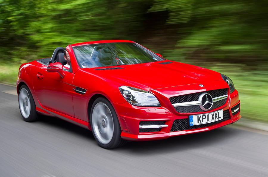 Captivating Mercedes Benz SLK ...