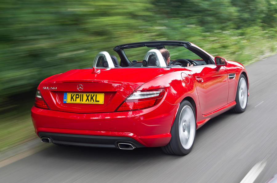Mercedes-Benz SLK rear quarter