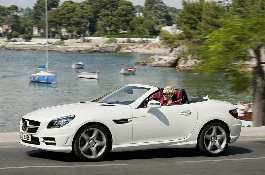 diesel mercedes slk unveiled autocar. Black Bedroom Furniture Sets. Home Design Ideas