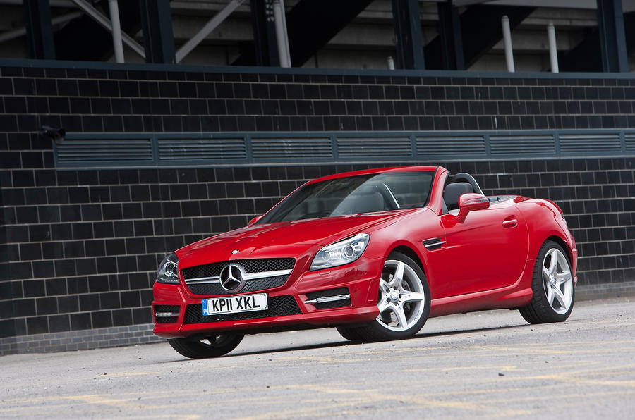 3 star Mercedes-Benz SLK