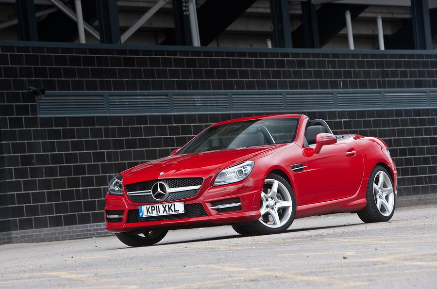 3 star Mercedes-Benz SLK