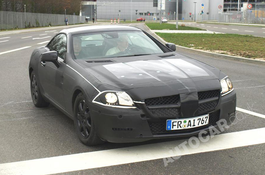New Mercedes SLK in detail