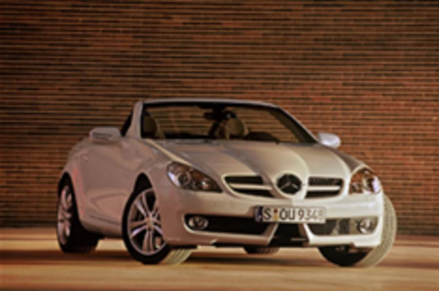 Merc facelifts its SLK... honest