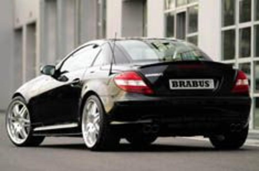 Brabus let loose on SLK