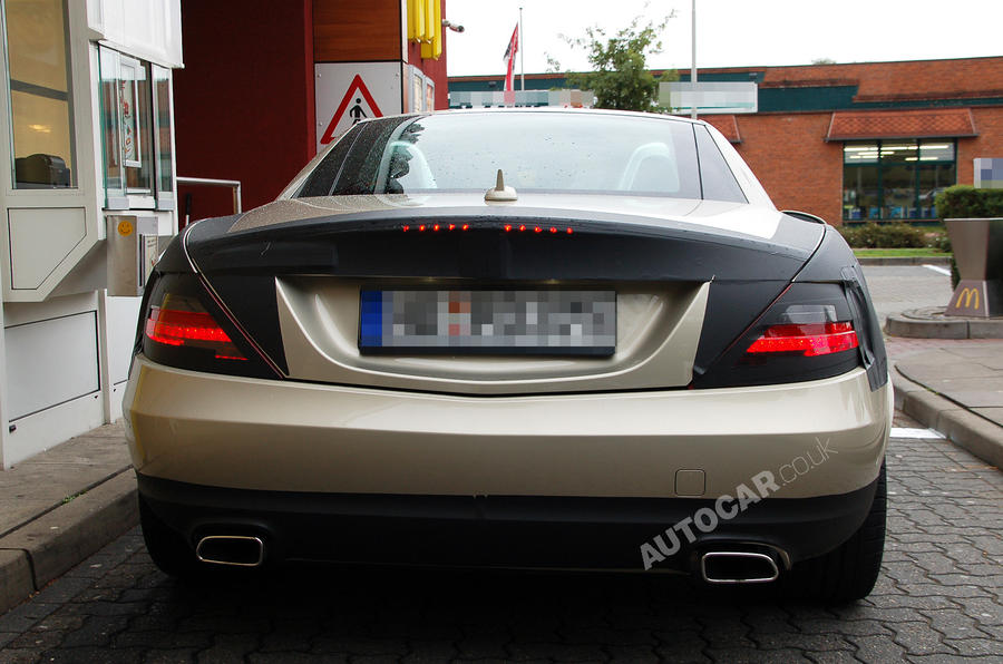 New Mercedes SLK uncovered