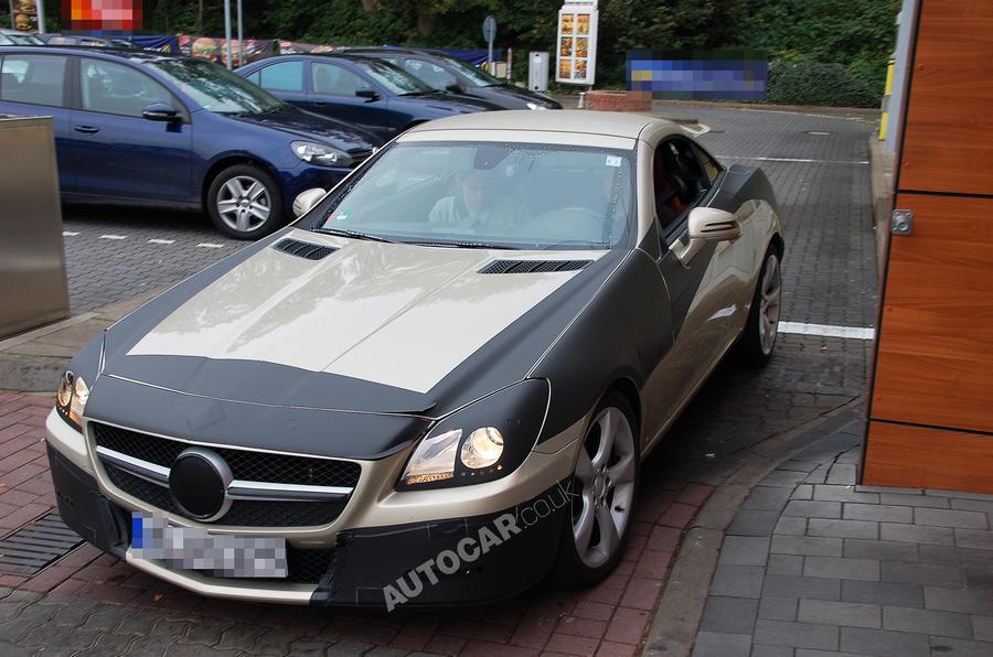 New Mercedes SLK uncovered