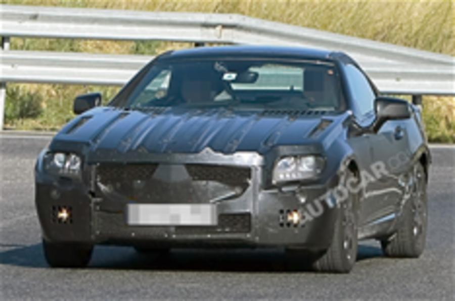 Next Mercedes SLK spied