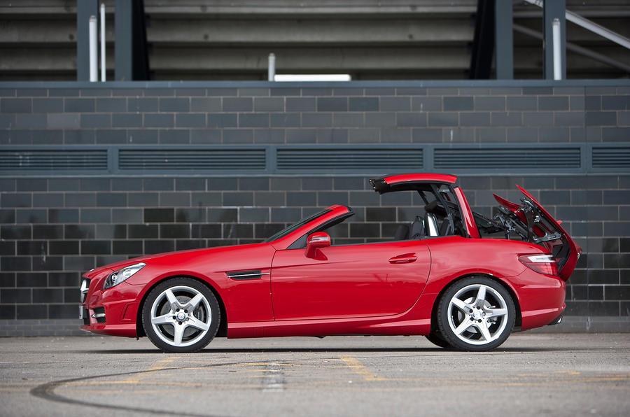 Mercedes Benz SLK; Mercedes Benz SLK Side Profile ...