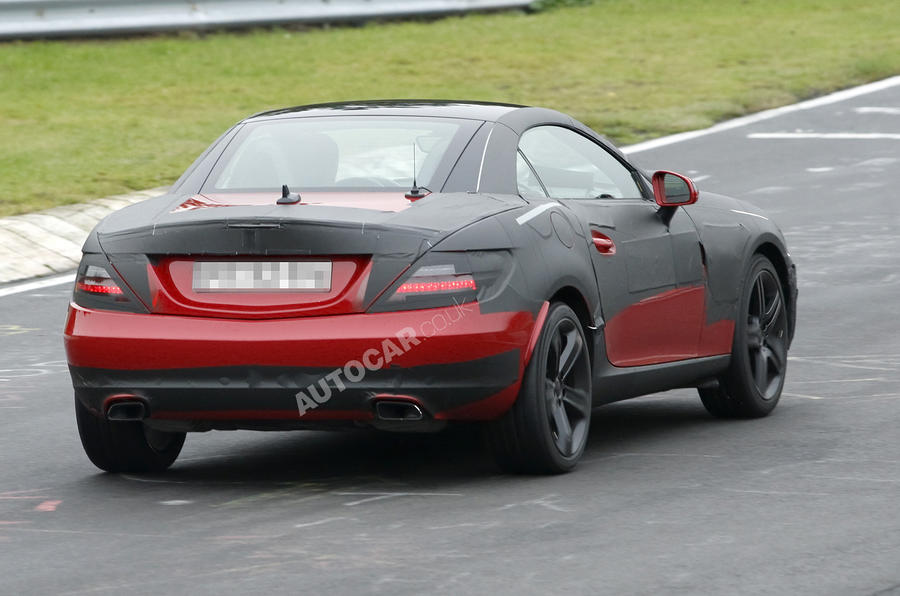 Merc SLK's new tech uncovered