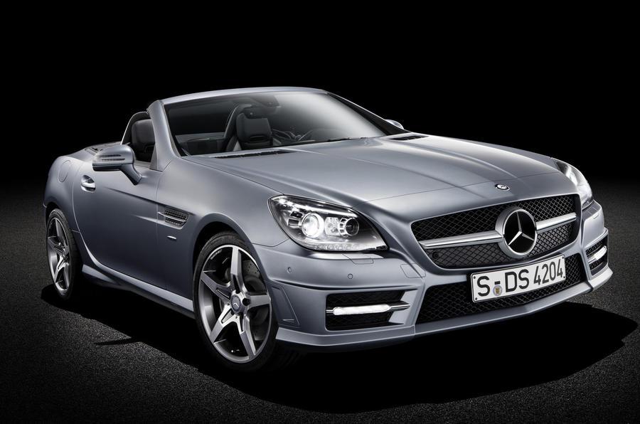 Geneva motor show: Mercedes SLK