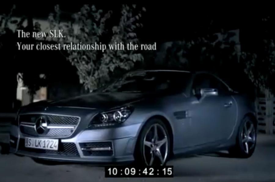 New Mercedes SLK unveiled