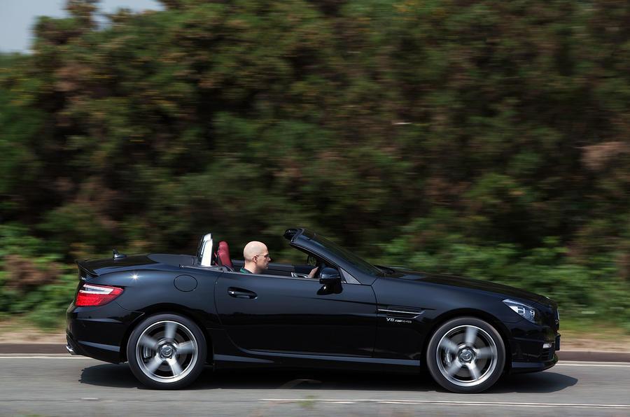The £54,965 Mercedes-AMG SLK 55